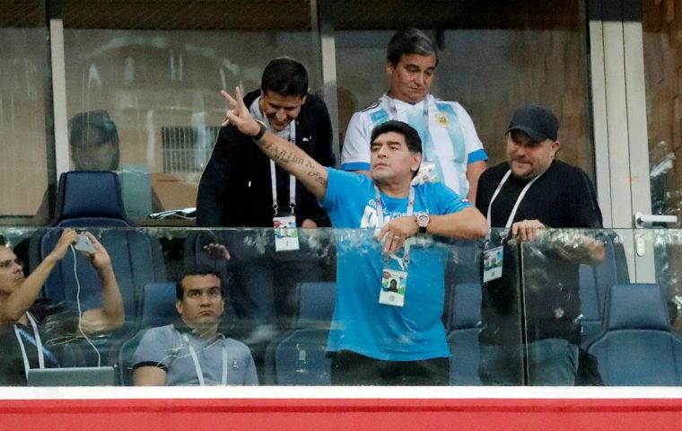 FIFA was aware of incidents such as that during Argentina's vital group game against Nigeria in St. Petersburg last Tuesday