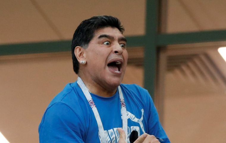 Two Spanish-language audio clips claimed Maradona had suffered a heart attack and died, shortly after news emerged of his eccentric and bizarre behavior