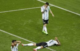 For Argentina this is the farewell of a golden generation that led to three finals. SERGEI GRITS/AP