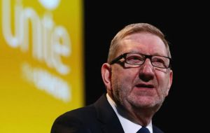 """We don't take any advice from polling organizations that we didn't commission,"" Mr. McCluskey told BBC Radio 4's The World at One"