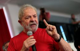 """In order to comply with the electoral legislation, his comments will stop being broadcast on Jose Trajano's program on TVT,"" said Lula's Workers Party"