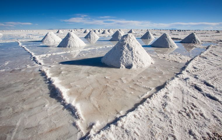 Salar de Uyuni, Bolivia. Ambassador to India, Sergio Dario Arispe Barrientos, said Bolivia has the largest deposit of Lithium and India could explore this opportunity