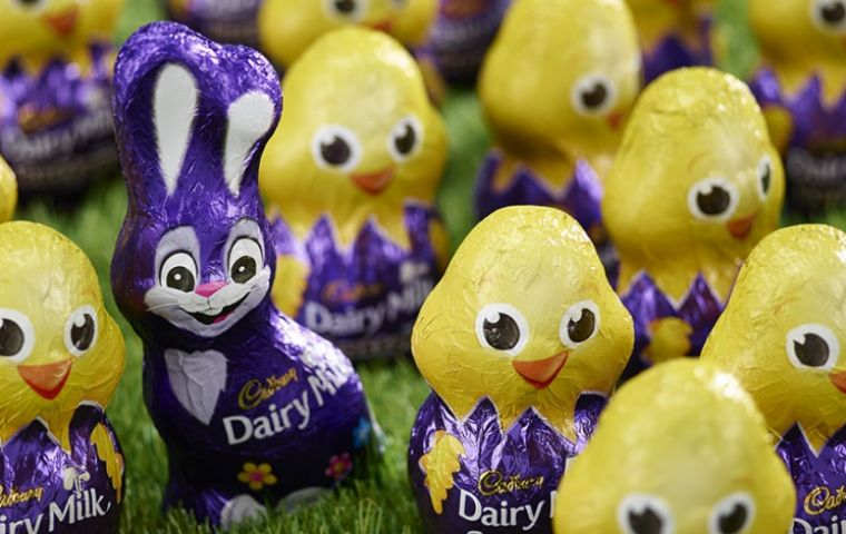 In its ruling ASA banned Cadbury's use of a storybook titled The Tale Of The Great Easter Bunny on its website, which featured children hunting for eggs.