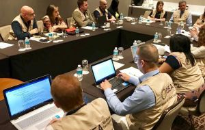 On election day, OAS observers visited 676 voting centers in 25 federal entities,  from installation and opening to the vote count and dissemination of results