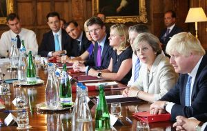 She hit out at the lack of progress on addressing the issue ahead of the Prime Minister's crunch meeting with her Cabinet at Chequers on Friday.