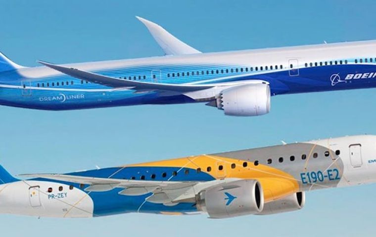 The two aircraft makers have been discussing for months a transaction in which a new company, Boeing controlled, would be created focused on commercial aviation