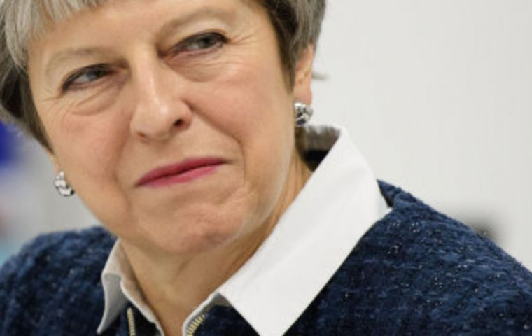 Mrs. May must resolve splits within the cabinet over the shape of Brexit. She is expected to present a proposal for UK-EU customs arrangements