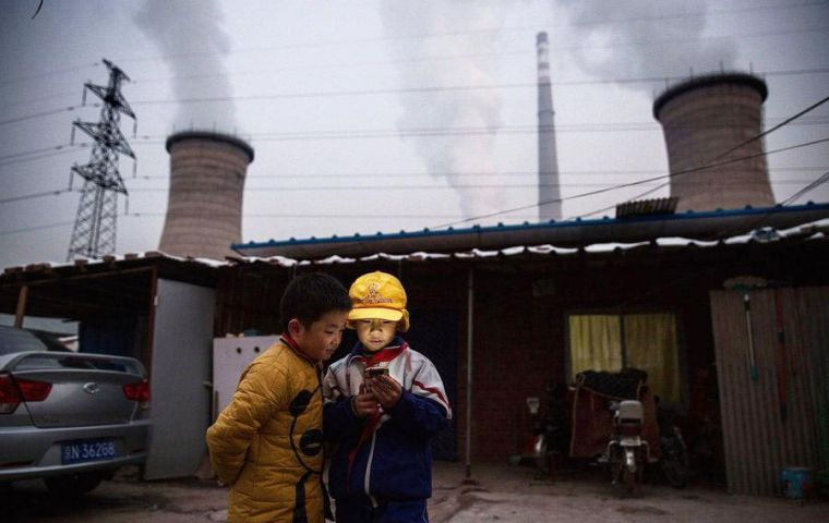 The EIA says that its estimates of the amount of the gas being used in China are in the middle of the emissions range calculated by scientists in their report in May.