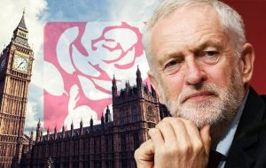 The prime minister has warned the Tory party it must unite or face the prospect of Jeremy Corbyn in power