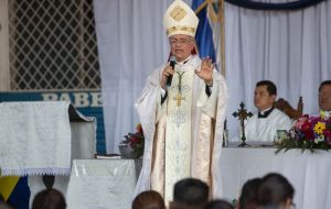 "For the auxiliary bishop of Managua, Silvio Báez, you cannot negotiate with ""the representatives of a government that continues attacking and massacring the population."""