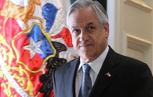 President Piñera who took office in March, has set a target of increasing investment an average of 6 to 7% in the next four years and introduced a law to cut red tape