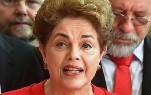 Dilma Rousseff attended the Sao Paulo Forum in Havana to seek the solidarity of regional progressive parties and movements.