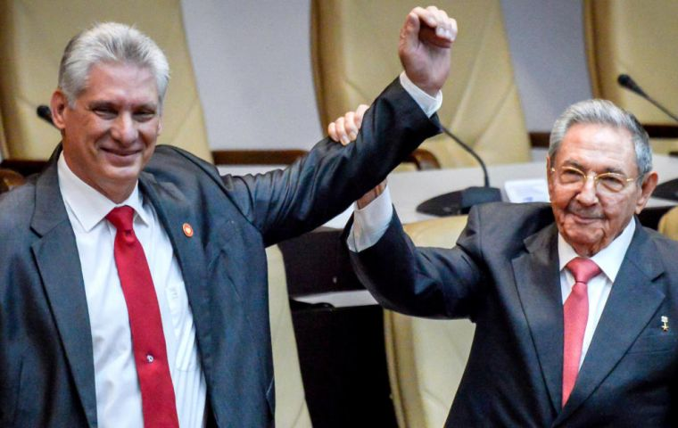 The proposed changes come as Miguel Diaz-Canel, is in only his third month as Cuban president, succeeding two icons of Cuba's revolution, Raul and Fidel Castro