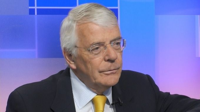 """John Major who lost power in 1997 after years of Conservative dissent over Europe also backs a second poll and said positions were more """"entrenched"""" today"""