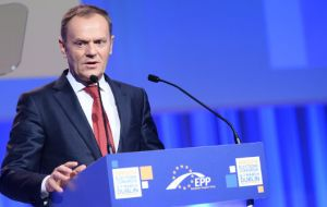 """We are sending a clear message that we stand against protectionism. The EU and Japan remain open for cooperation,"" European Council President Donald Tusk"