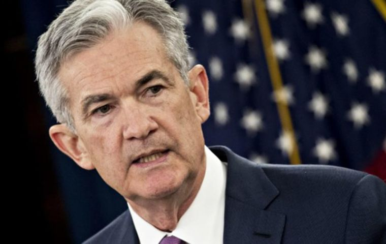 Powell said US economy is expected to remain strong, but trade could complicate Fed's forecasts: it is difficult to predict the ultimate outcome of current discussions