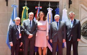 Mercosur ministers held two days of talks with EU Trade Commissioner Cecilia Malmstrom