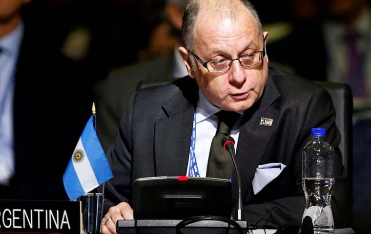 """We have achieved a sort of critical mass that will enable us to go to the closing game,"" Argentine Foreign Minister Jorge Faurie told reporters"