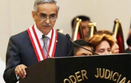 "In a short letter shared on Twitter, judicial chief Duberli Rodriguez announced he was tendering his resignation ""due to the institutional crisis."""