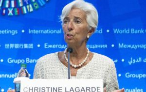 "IMF chief Christine Lagarde has warned that increasing trade restrictions pose ""the greatest near-term threat"" to the world economy"