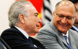 Ex Sao Paulo governor Alckmin and his Brazilian Social Democratic Party (PSDB) have backed President Michel Temer's economic agenda
