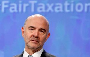 "Major digital companies had ""to pay their fair share of tax, because basically what we are talking about here is fairness,"" Pierre Moscovici told reporters at the G20"