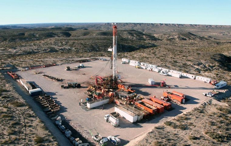 The gas will come primarily from the Vaca Muerta shale field in the Neuquen basin, and will be sent over the Andes mountain range to Chile's Biobio province