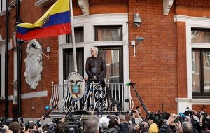 Moreno ordered the removal of extra security at the embassy. The operation is believed to have cost Ecuador some £3.7million, running at £48,000 a month