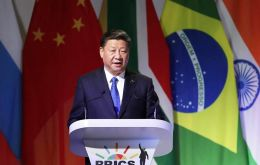 "Brazil, Russia, India, China and South Africa must jointly reject unilateralism, which ""are mounting and pose a severe blow to multilateral trade"", Xi said"