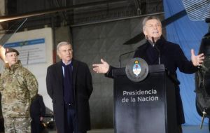 President Macri decreed a change in Argentina's defense policy, expanding the responsibilities of the Armed Forces into domestic security affairs