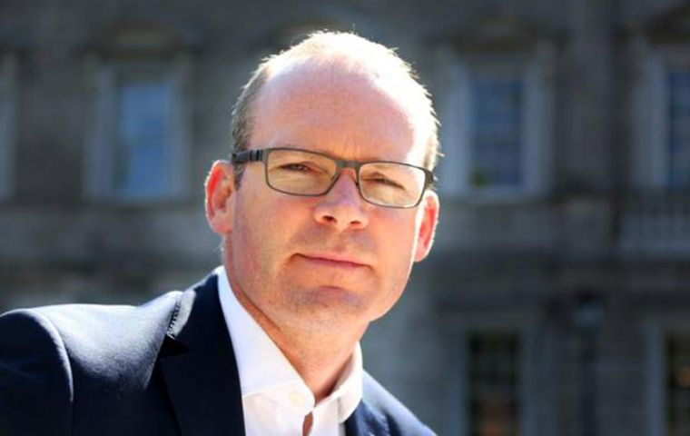 "Simon Coveney said the negative implications of a no deal Brexit are ""very significant for Ireland and for the UK"""