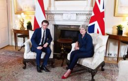 Theresa May is holding talks with Austria's Kurz and Czech PM Andrej Babis as she seeks to win support for her proposals for the UK's future EU relationship