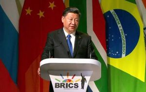 """We should stay committed to multilateralism,"" China's President Xi Jinping said on the second day of the talks."