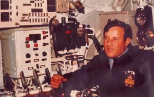 Felix Artuso, the chief engineer of the submarine