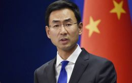 """It is a positive development regarding the issue and we are aware of the progress the foreign airlines have made,"" said Chinese Foreign Ministry spokesman Geng"