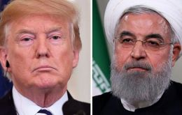 "Trump said he would meet Iranian President Hassan Rouhani without preconditions, because ""I believe in meeting."""