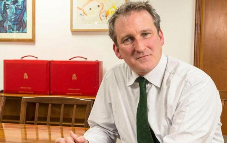 "Education Secretary Damian Hinds says it is a ""scandal"" that some children still start school unable to speak in full sentences or read simple words"