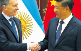 China proposed an expansion of the currency swap deal with Argentina, whose foreign reserves have been drained by interventions aimed at propping up the peso