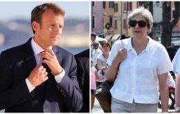 PM May has been invited to Macron's holiday retreat in France. It comes as the UK government steps up its engagement with counterparts in the EU over Brexit