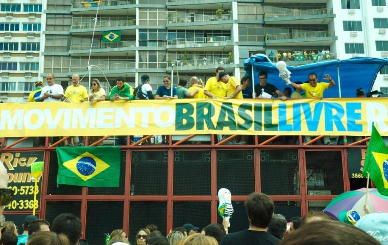 "Apparently sources indicated the network was run by senior organizers from Movimento Brazil Livre (MBL) or ""Free Brazil Movement."""