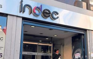 Argentina has one of the world's highest inflation rates. INDEC national statistics bureau said consumer prices rose 3.7% in June, and 29.5% in the 12-month