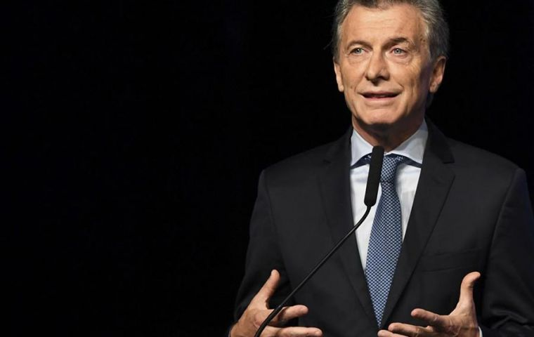"Macri advised Argentines to ""take care of themselves, look and compare"" prices when they shop for groceries and other items"