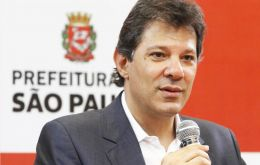 Haddad, 55, of Lebanese-Christian descent, lost his 2016 bid for re-election to Sao Paulo's city hall in a stunning first round defeat to rising conservative Joao Doria
