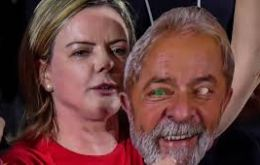 "In a message from Lula read to the party convention in Sao Paulo, he said, ""Brazil needs to restore its democracy"""
