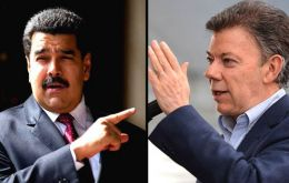 Nicolás Maduro assured on Saturday, without evidence or investigation, that Juan Manuel Santos and the far right were behind the alleged attack.