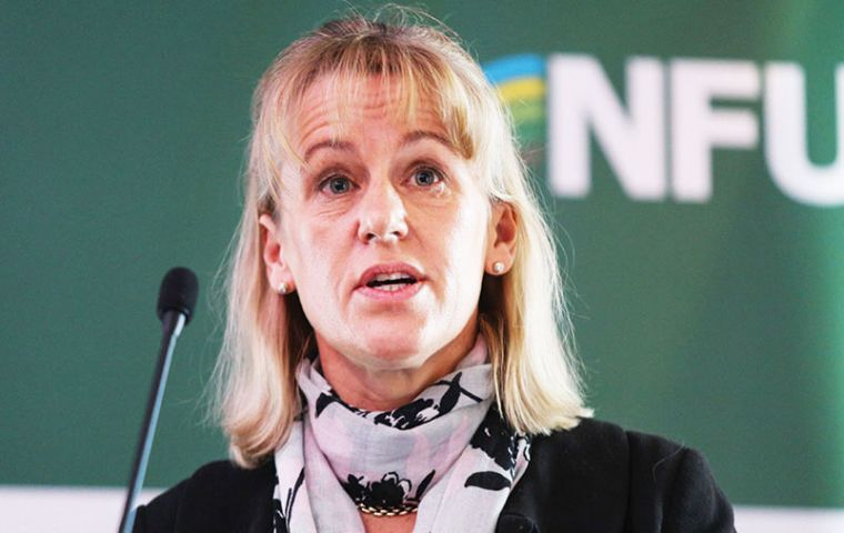 NFU president Minette Batters said government must show farmers and members of the public that our ability to produce food in this country is truly important.