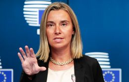 "High Representative Federica Mogherini and Foreign Ministers of E3, Jean-Yves Le Drian of France, Heiko Maas of Germany and Foreign Secretary Jeremy Hunt  ""..determined to protect EU economic operator"