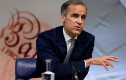 "Bank of England governor Mark Carney said on Friday the chances of a no-deal Brexit were ""uncomfortably high"""