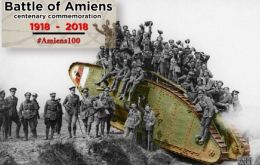 The battle of Amiens heralded the Hundred Days Offensive, a string of allied successes on the West Front which led to the armistice on 11 November 1918