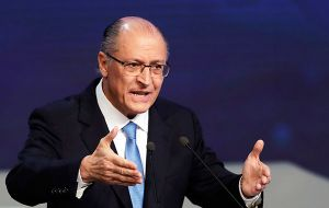 Centre-right former Sao Paulo governor Geraldo Alckmin